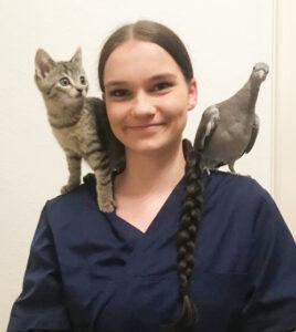 Simone Herrmann, Tierarzthelferin in Ausbildung